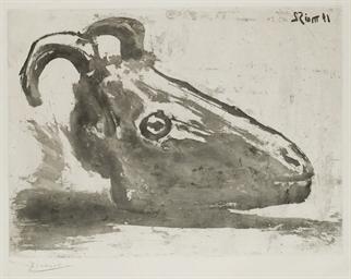Le Crâne de Chèvre (B. 691; Ba