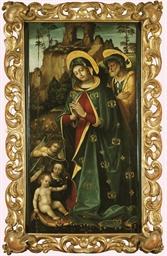Sainte Famille avec des anges