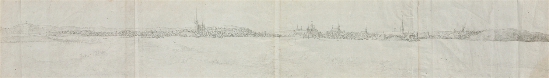 Vue panoramique de Stockholm