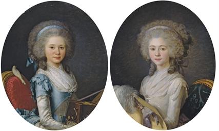 Portrait d'Emilie-Angélique de