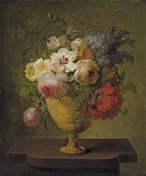 Roses, lilas et autres fleurs