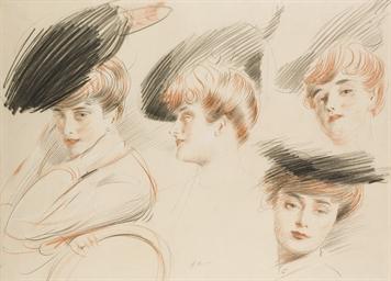 Portraits de Madame Helleu dan