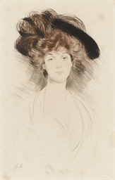 Portrait of a Lady in a Hat