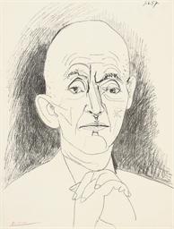 Portrait de D.H. Kahnweiler II