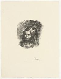 Claude Renoir La tête Baisée f