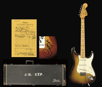 Jimi Hendrixs 1970 Fender Stratocaster