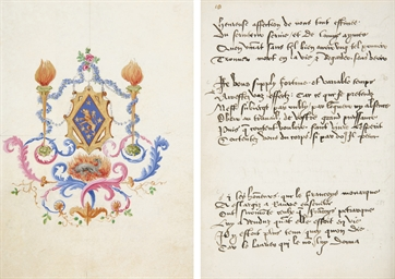 [SAINT-GELAIS, Mellin de (1491