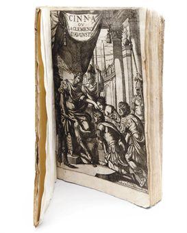 CORNEILLE, Pierre (1606-1684). Cinna ou La Clémence d'Auguste. Tragédie. Imprimé à Roüen aux despens de l'Autheur, & se vendent. A Paris: Toussaint Quinet, 1643.