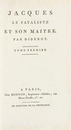 DIDEROT, Denis (1713-1784). Ja