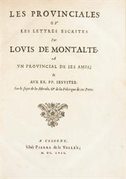 [PASCAL, Blaise (1623-1662)].