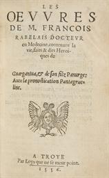 RABELAIS, François (?1494-1553