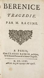 RACINE, Jean (1639-1699). Béré