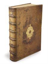 RONSARD, Pierre de (1524-1585). Les Oeuvres de P. de Ronsard gentilhomme vandomois. Reveues, corrigees & augmentees par l'Autheur. Paris: Gabriel Buon, 1584.