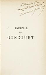 GONCOURT, Edmond (1822-1896) &