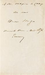 HUGO, Victor (1802-1885). Les