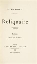 RIMBAUD, Arthur (1854-1891). R