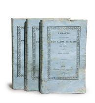 [STENDHAL, Henri Beyle, dit (1783-1842)]. Armance, ou Quelques scènes d'un salon de Paris. Paris: Urbain Canel, 1827.