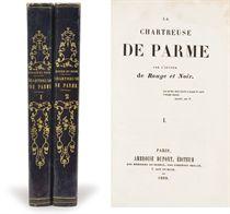 [STENDHAL, Henri Beyle dit (1783-1842)]. La Chartreuse de Parme. Par l'auteur de Rouge et Noir. Paris: Ambroise Dupont, 1839.