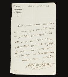 VIGNY, Alfred de (1797-1863).