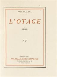 CLAUDEL, Paul (1868-1955). Par