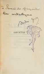GIDE, André (1869-1951). Amynt