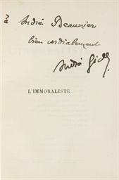 GIDE, André (1869-1951). L'Imm