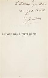 GIRAUDOUX, Jean (1882-1944). E