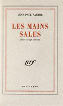 SARTRE, Jean-Paul (1905-1980). Les Mains sales. Paris: Grevin pour la NRF, 1948.