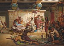 Anthony and Cleopatra overseeing the execution of the conspirators