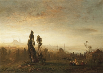 A view of Istanbul and the Bos