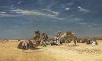 Rast in der Araba (Peträisches Arabien)