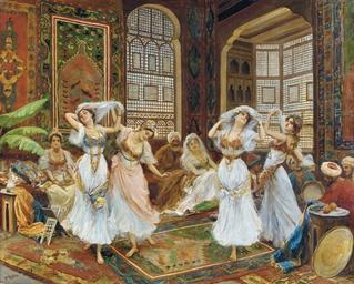 Danza nell Harem: The harem da