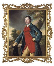 Portrait of Francis Burdett, t