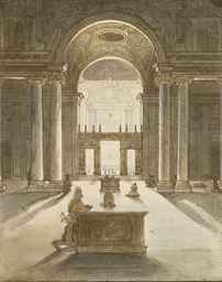 The Borghese Chapel in the Chu