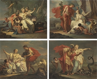 The Rape of Europa; Meleager p