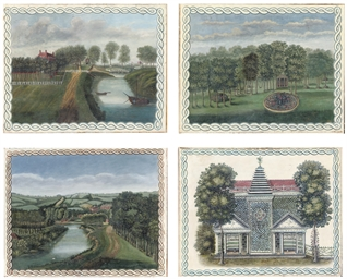 Four views of Grove House and