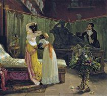 Paulina Borghese in Antonio Canova's studio