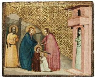 The Holy Family with Saint Eli