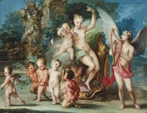 The Triumph of Venus and Cupid