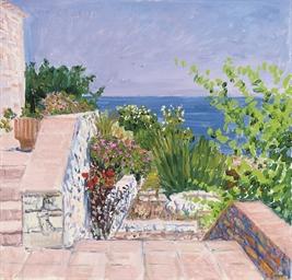 Garden of the Villa Delphinia,