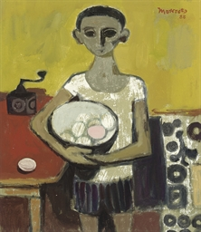 Boy with a Bowl of Eggs