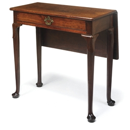 A SCOTTISH GEORGE II MAHOGANY