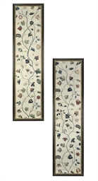 A PAIR OF GEORGE II PANELS OF