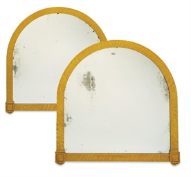 A PAIR OF REGENCY SIMULATED BI