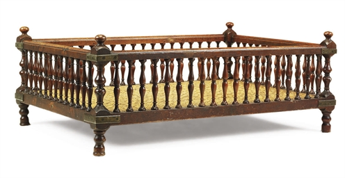 AN INDIAN TEAK HOWDAH