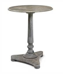 A WILLIAM IV SLATE TABLE