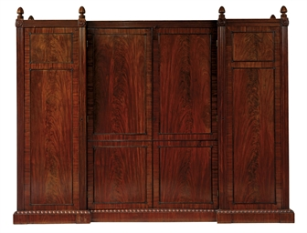 A SCOTTISH REGENCY MAHOGANY WA