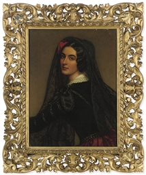 Portrait of Lola Montes (1821-
