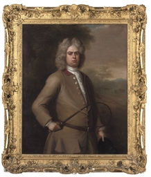 Portrait of John Sutton, three