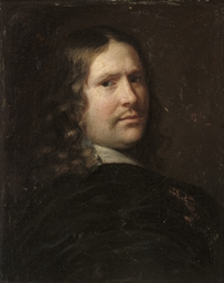 Self-portrait of an artist, bu